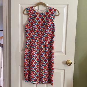 Kate Spade multicolor sheath dress